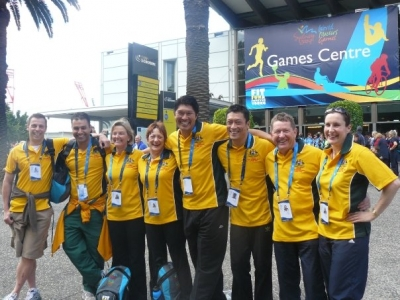 Australian divers at Sydney World Master Games 2009